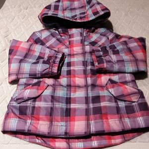 Cherokee plaid spring jacket-EUC